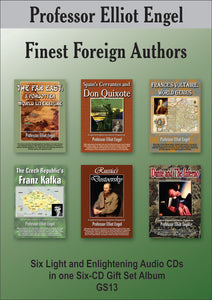 Finest Foreign Authors (6 CD Gift Set)