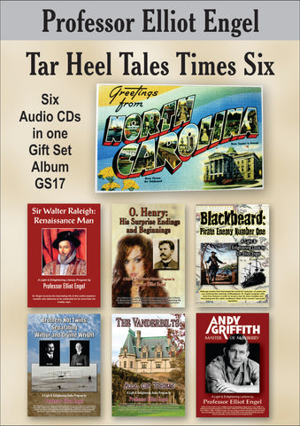 POS  Gift Set Tar Heel Tales Times Six (6 CDs) - SALE PRICE