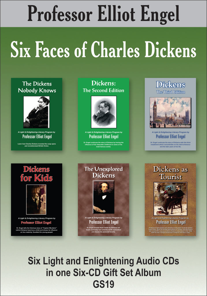 Six Faces of Dickens (6 CD Gift Set)