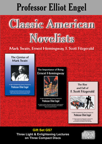 Classic American Novelists (3 CD Gift Set)