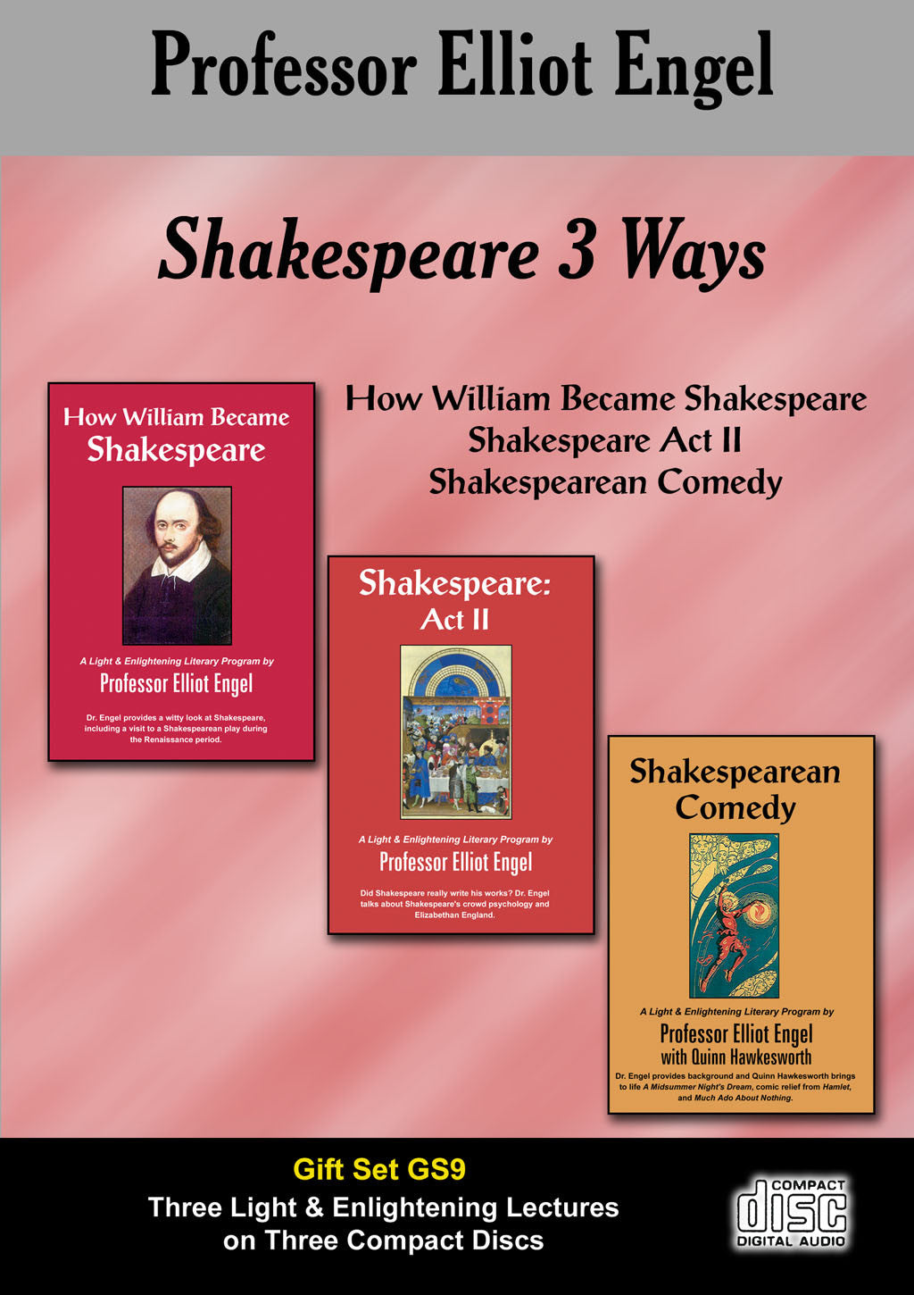 GS09 - Shakespeare Three Ways (3 CD Gift Set)