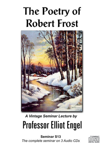 Seminar 13 The Poetry of Robert Frost