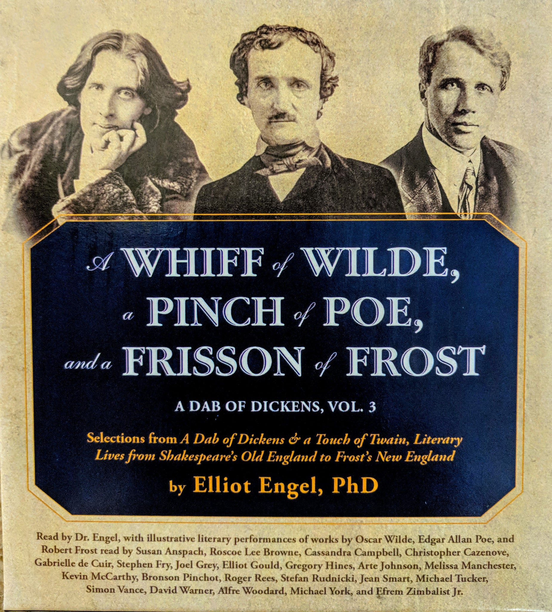 A Whiff of Wilde, a Pinch of Poe, and a Frisson of Frost 6-CD set