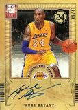 2012-13 Panini Elite Passing The Torch Card #1 Dual-Autograph Kobe Bryant and Kevin Durant #49/49