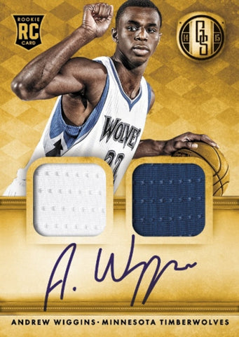 2014-15 Panini Gold Standard Basketball Hobby Box