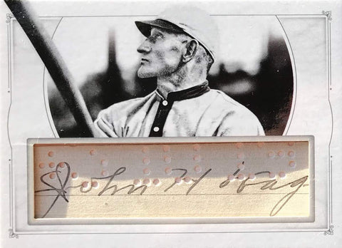 2015 Panini National Treasures Baseball Legends Game-Used Material Autograph Honus Wagner #1/1