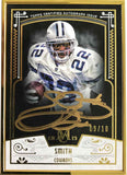 2015 TOPPS Museum Collection MFA-ES Autograph Emmitt Smith #9/10