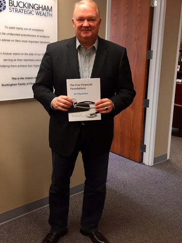 Jeff C. Johnson with Five Financial Foundations book