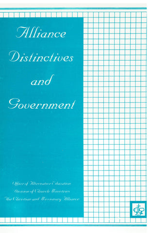 Alliance Distinctives and Government