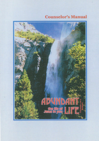 Abundant Life Counselor's Manual