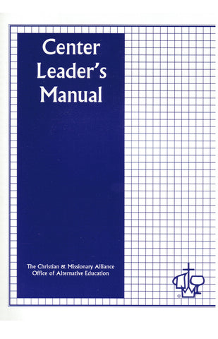 Center Leader's Manual