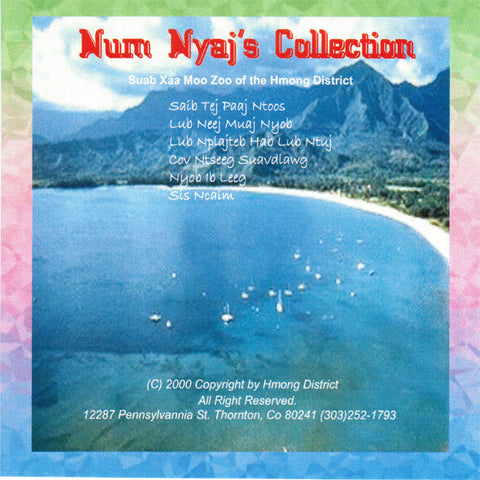 Num Nyaj's Collection (CD)