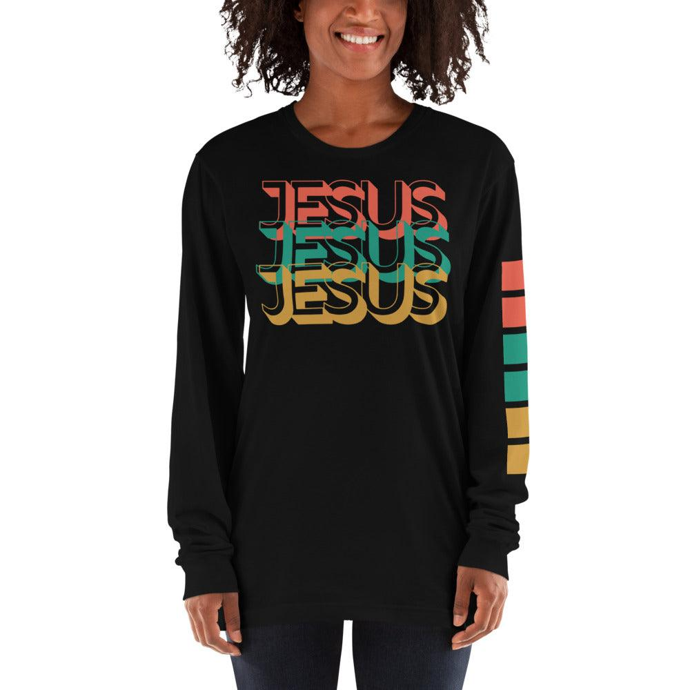 In The Name of Jesus- Women's Long Sleeve Tee