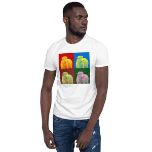 Parable of the Lost Sheep- Men's T-Shirt