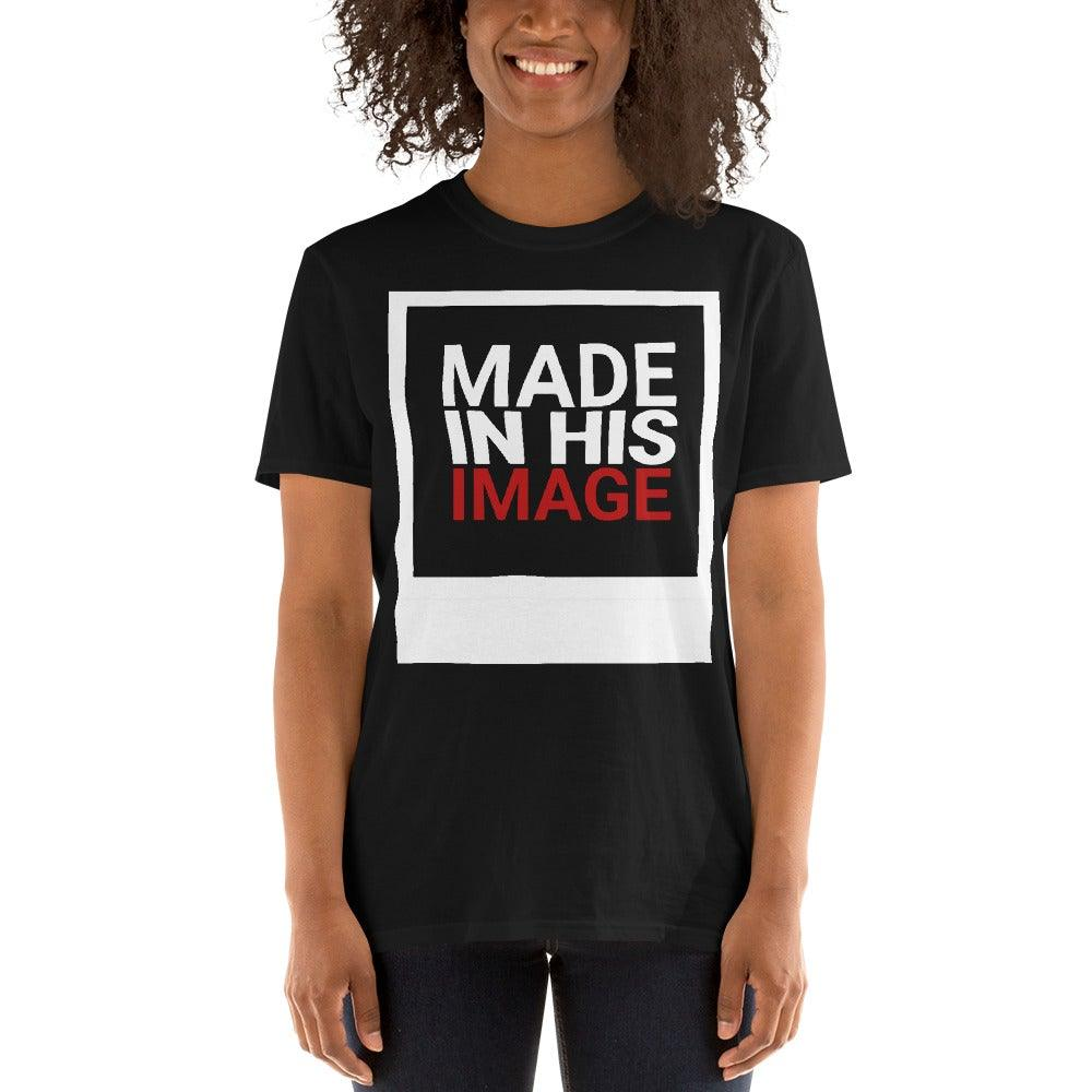 Made In His Image- Women's T-Shirt