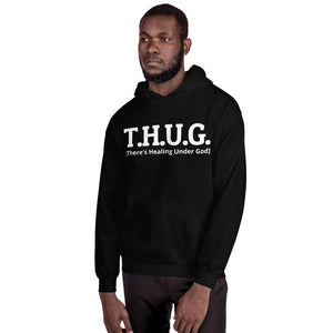T.H.U.G-There's Healing Under God- Men's Hoodie