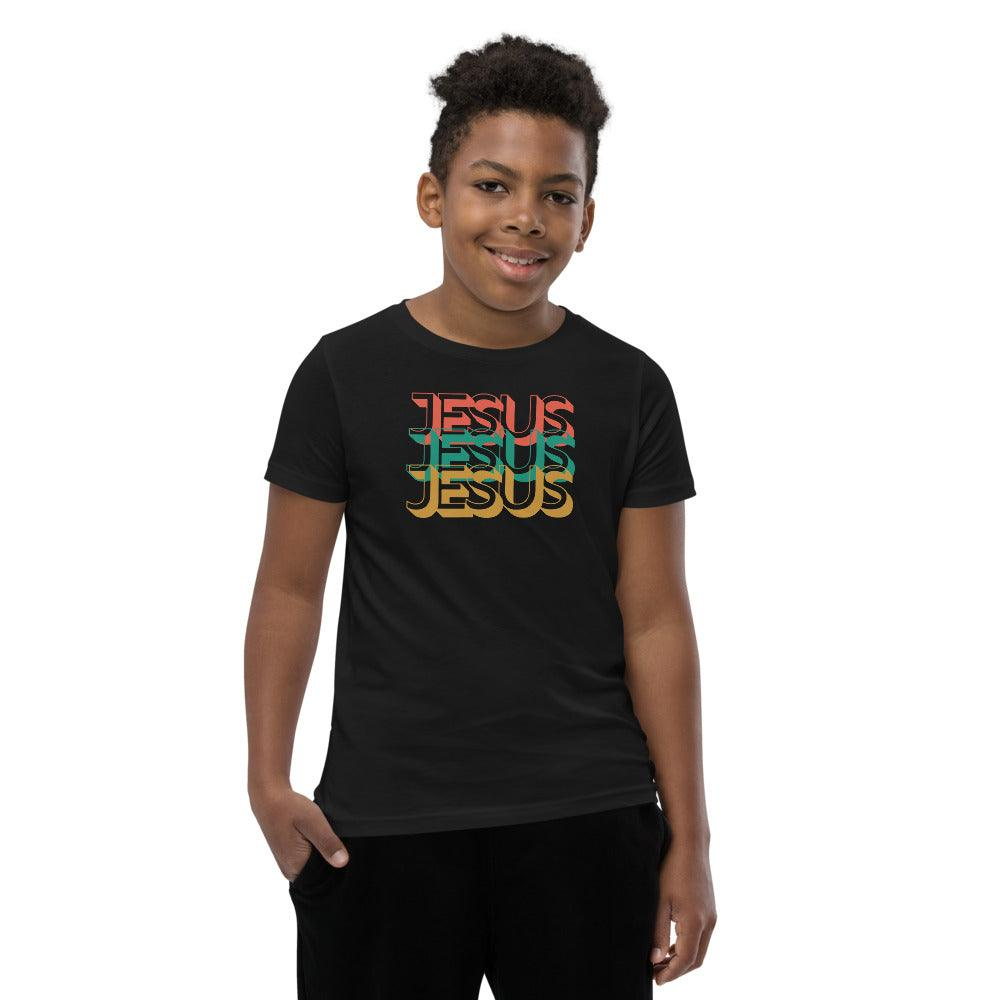 In the Name of Jesus- Boy's Big Kids T-Shirt