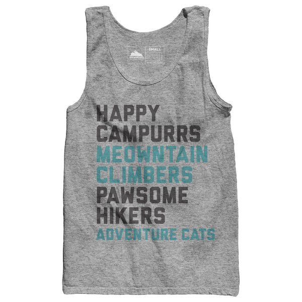 Adventure Cats Happy Campurrs Tank