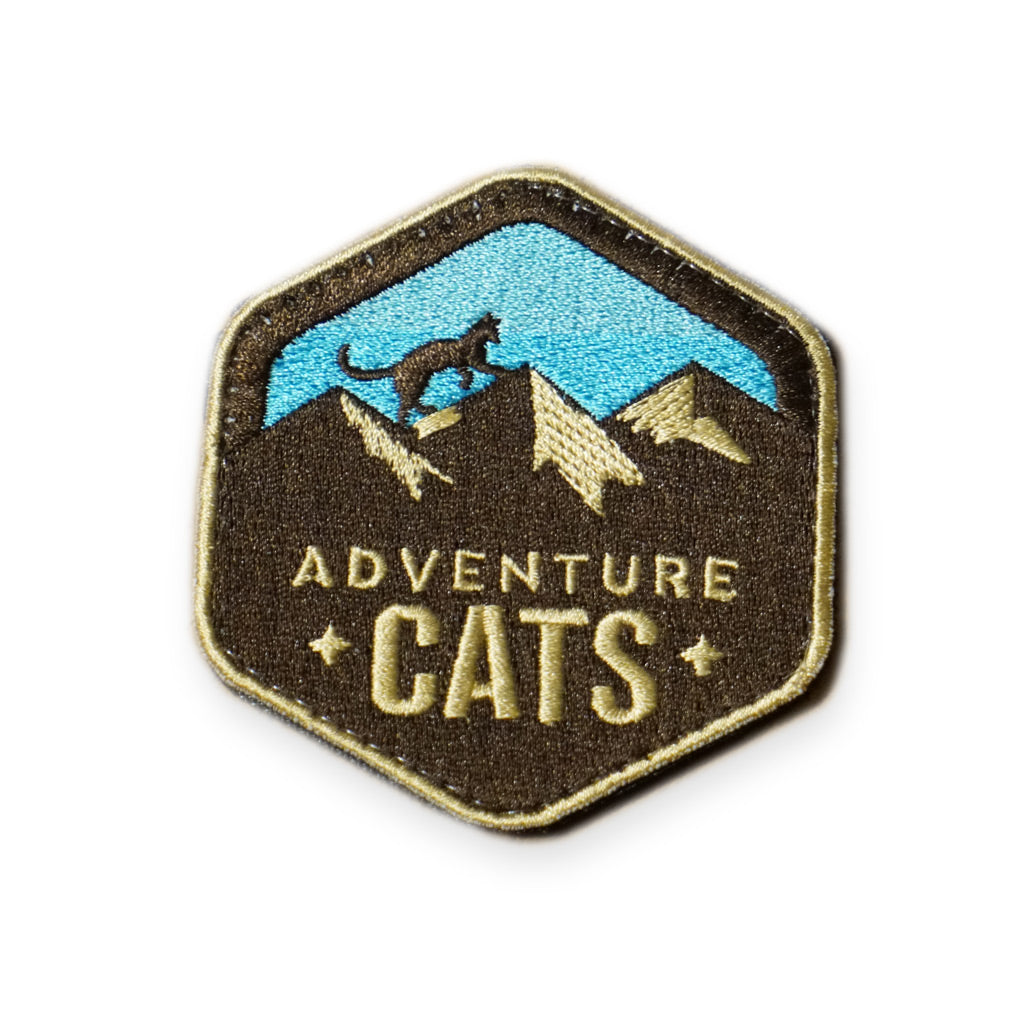 Adventure Cats Badge Patch