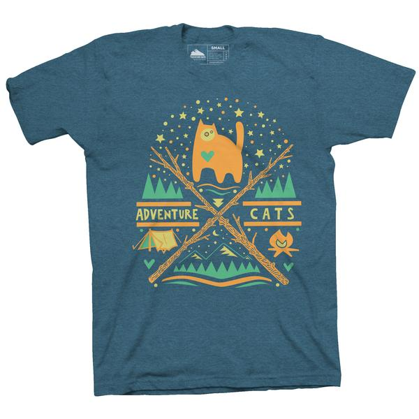 Catlanta Shirt - Steel Blue