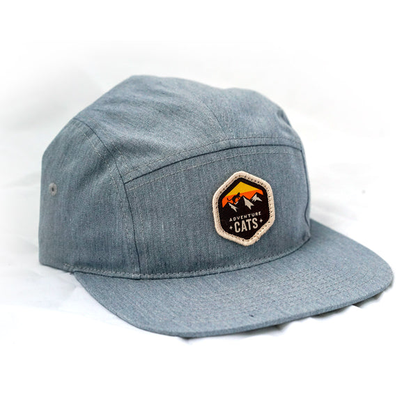 Adventure Cats Five-Panel Hat