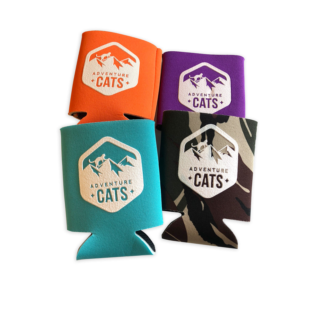Adventure Cats Koozies