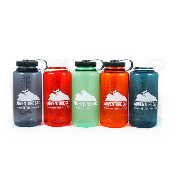Adventure Cats 32 oz. Nalgene Bottle