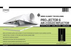 "Green Element Technology ""Projector 6"" Reflector"
