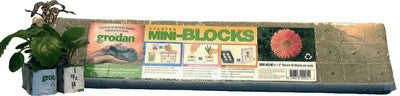 Rockwool Plugs Starter Mini-Blocks