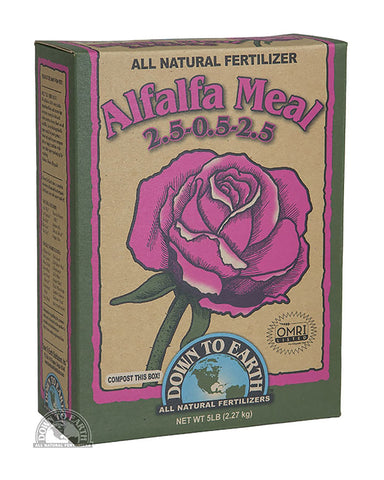 Down To Earth Alfalfa Meal 5lb Box