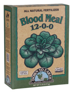 Down To Earth Blood Meal 5lb Box