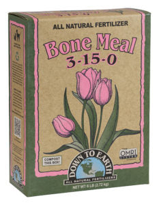 Down To Earth Bone Meal 6lb Box