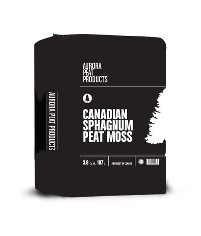 Aurora Peat Products<br> Canadian Sphagnum Peat Moss