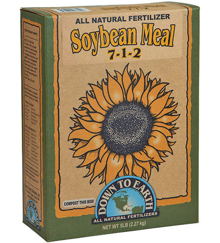 Down To Earth Soybean Meal 5lb Box
