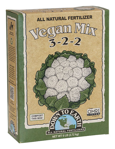 Down To Earth Vegan Mix 6lb Box