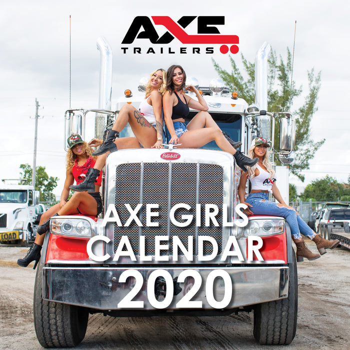 AXE Girls Calendar 2020