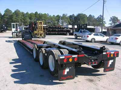 NEW Fontaine 55 Ton Extendable Tridem Hydraulic Neck (RGN)