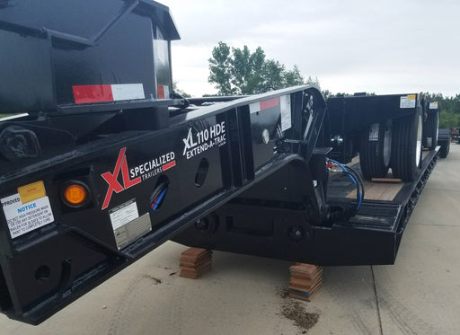 NEW XL Specialized 55 Ton (26'-44') or (29'-50') Hydraulic Neck Extendable (RGN)