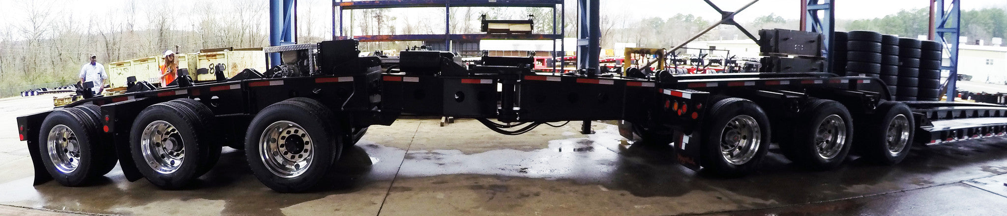 NEW Fontaine 80 Ton Drop Side Rail Hydraulic (RGN)