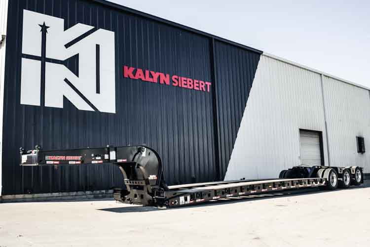 "NEW Kalyn Siebert 55 Ton 18"" Loaded Deck Height"