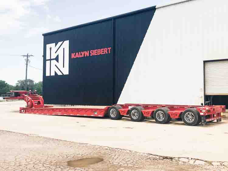 NEW Kalyn Siebert VersaMAXX 60 Ton (Bus Trailer) Hydraulic Neck RGN