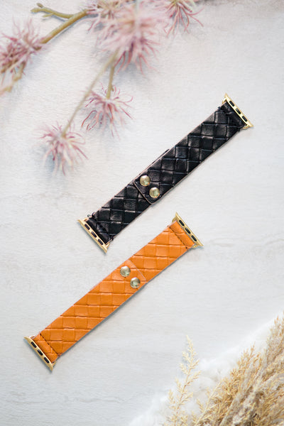 38mm Woven SmartWatch Band, BLACK OR BROWN