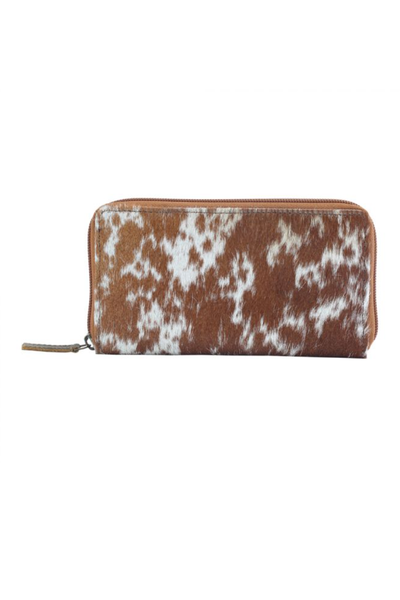 MYRA - Milky Way Leather & Hairon Wallet