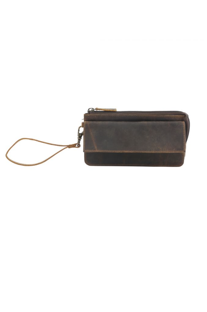 MYRA - Perfect Tan Leather Wallet