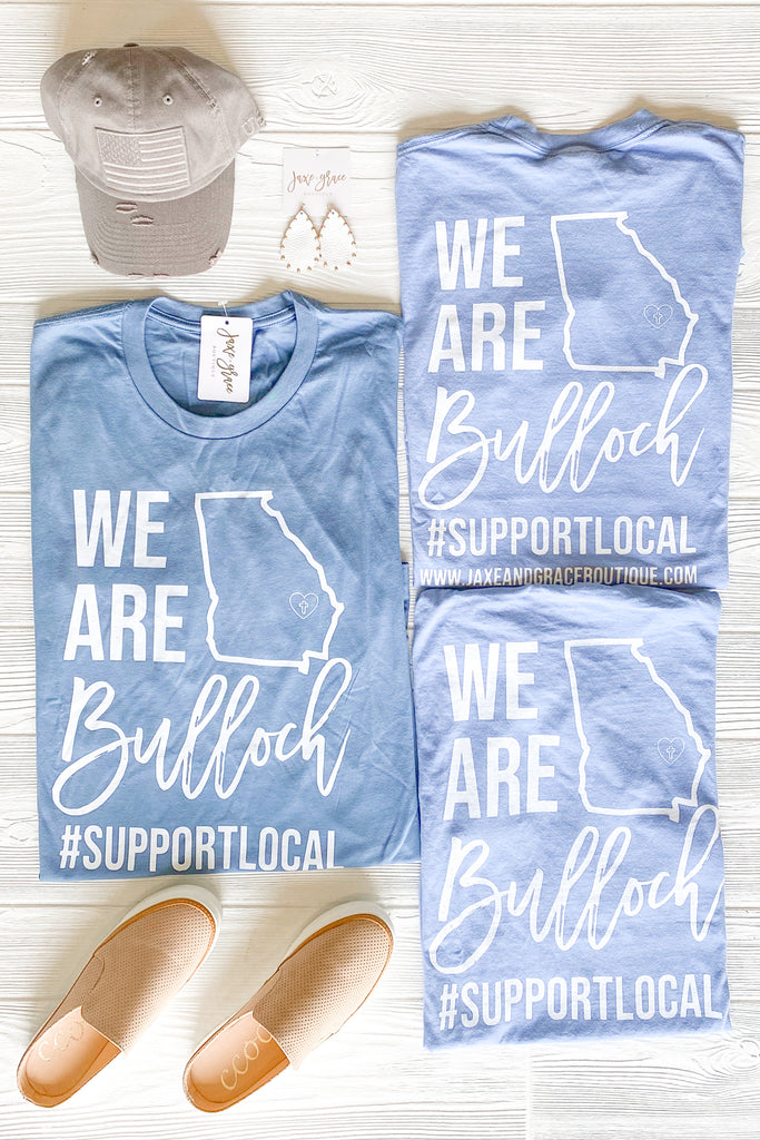 """We are Bulloch"" Comfort Color Tees, VARIOUS DESIGNS"