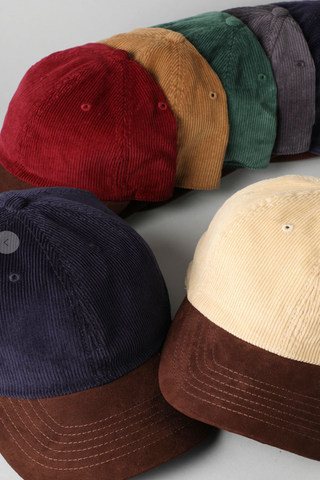 Two Tone Corduroy Hat, VAROUS COLORS