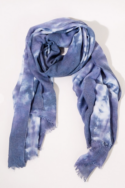 Tie Dye Scarf, VARIOUS COLORS