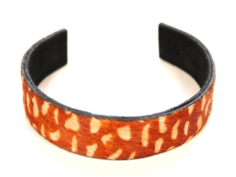 Cowhide Cuff, VARIOUS COLORS