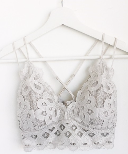 Crochet Lace Bralette, VARIOUS COLORS