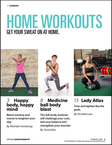 Home Workouts eBook
